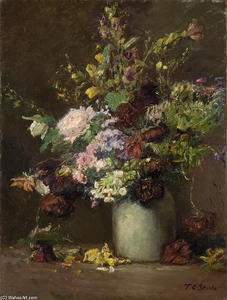 Untitled (A Vase of Flowers)