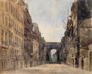 Paris. Rue St Denis