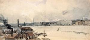 Study for the Eidometropolis. the Thames from Westminster to Somerset House
