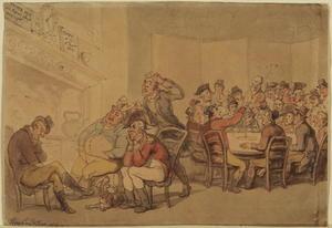 Interior of a gentleman's club
