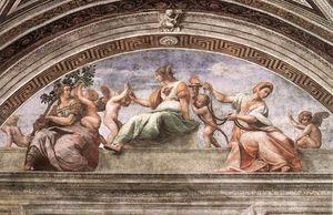 The Cardinal Virtues (Stanza della Segnatura)
