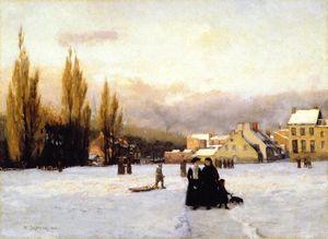 Champ-de-Mars, Winter