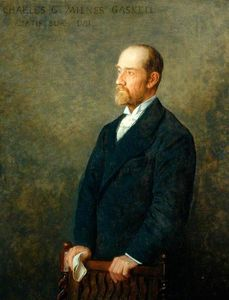 Charles G. Milnes Gaskell, Chairman of the County Council of the West Riding of Yorkshire
