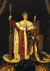 Charles X inn his Coronation Robes