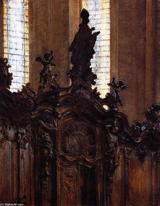 Choirstalls in Mainz Cathedral