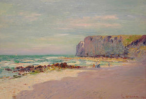 Cliffs at Petit Dalles, Normandy
