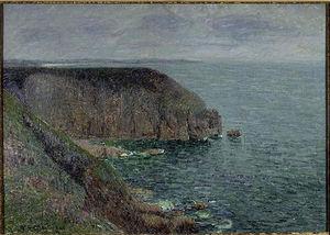 Cliffs in Gray weather