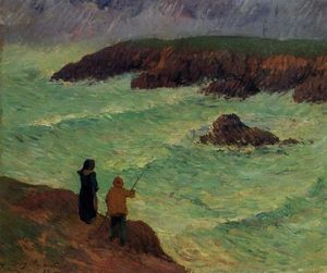 The Cliffs near the Sea