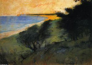The Coast of Rügen