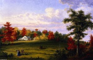The Country House of Capt. John Walker, near Quebec
