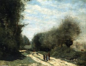 Crecy-en-brie - Road in the Countryside