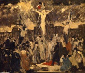 Crucifixion, Sketch #3