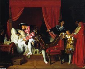 The Death of Leonardi da Vinci