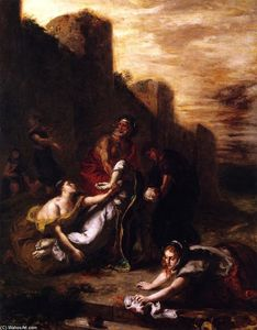 Disciples and Holy Women Carrying Away the Body of Saint Stephen