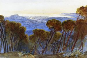 A Distant View of Nice from the Hills