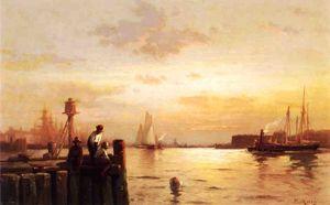 Early Dawn, New York Harbor