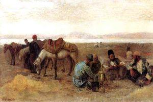 Early Morning by Lake Urumiyah, Persia