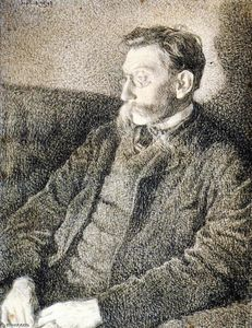 Emile Verhaeren in September 1892 at Hemiksem