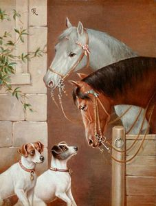The encounter at the horse barn