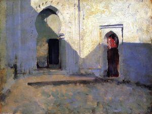 Entrance to a Mosque (also known as Courtyard, Tetuan)