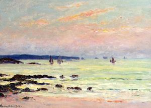 Evening at the Sea, Quiberon