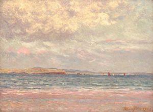 Evening, Morgat Beach