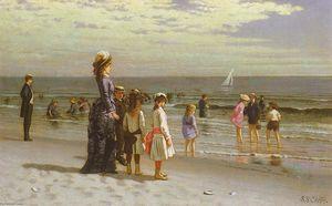 Family at the Seashore