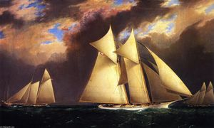 The First America's Cup Race, August 8, 1870