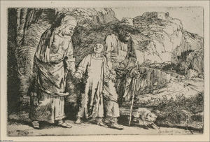 The Flight into Egypt, The Holy Family Crossing the Rill