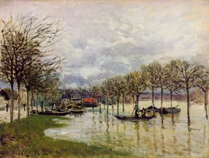 The Flood on the Road to Saint-Germain