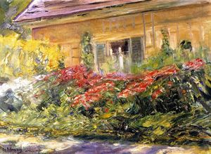 Fiori al Gardener's Casa verso la A nord
