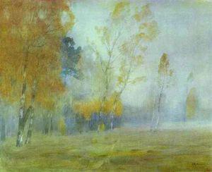 Fog. Autumn