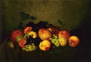 Fruit: Apples, Grapes, Peaches and Pears