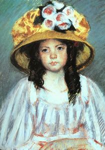 Girl in a Large Hat