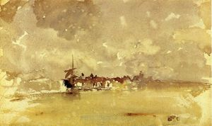 Gold and Grey: the Sunny Shower - Dordrecht