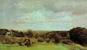 The Grape Harvest at Sevres
