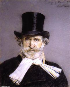 Guiseppe Verdi in a Top Hat