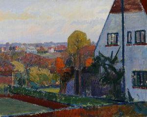 Harold Gilman's House at Letchworth, Hertfordshire