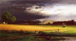Harvest Scene - Valley of the Delaware