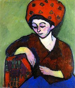Helene in Colored Turban