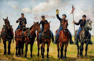 Horse Artillery (study)