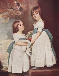The Horsley Children, Master George and Miss Charlotte