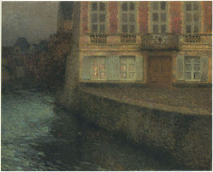 House by the Quentin Canal