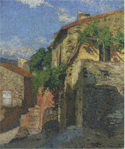 Houses at Collioure