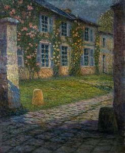 House with Roses