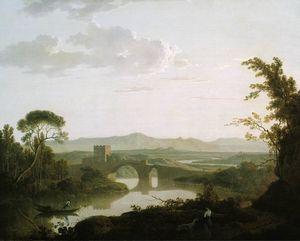 Imaginary Landscape with a Bridge in the Roman Campagna