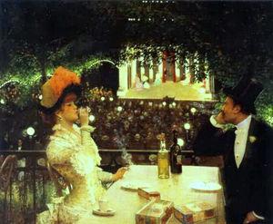 In Café-Chantant 'Les Ambassadeurs'