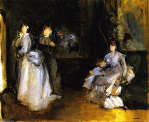 Interior of the Milliner