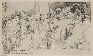 Jesus Disputing the Doctors, a Larger Print