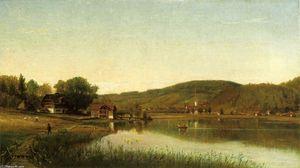 Lake Village (also known as Swiss Scene)